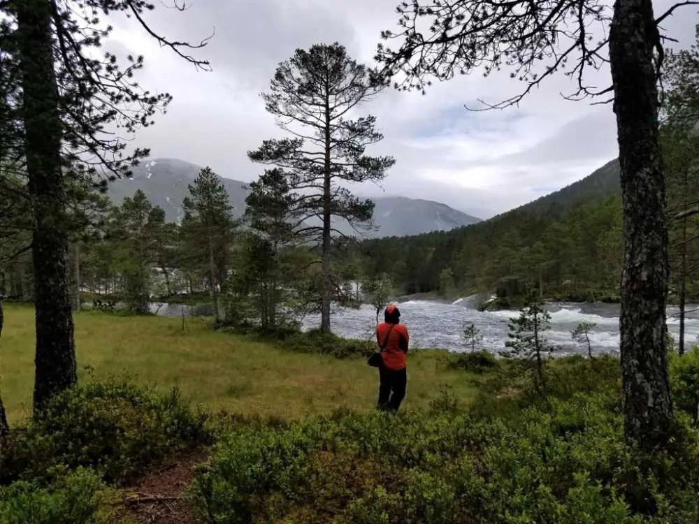 Likholefossen in Norwegen