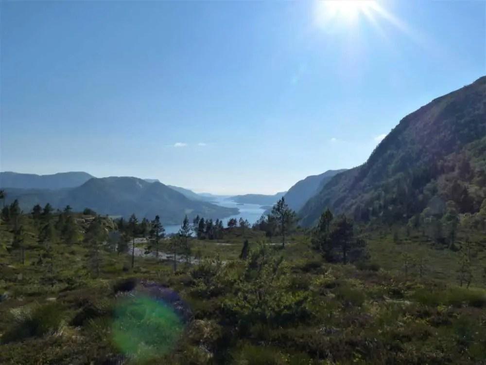 Region Aure in Norwegen