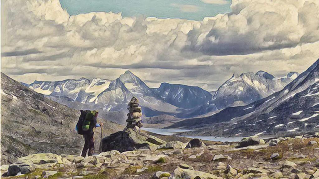 Trekking Tour im Nationalpark Jotunheimen