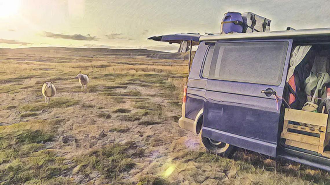 Mit dem Camper durch die Finnmark