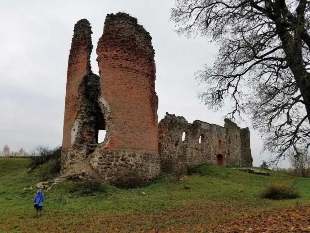 Burg im Baltikum