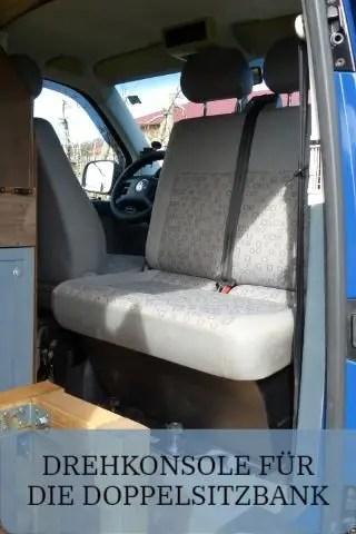 Drehkonsole für die Doppelsitzbank im VW Bus
