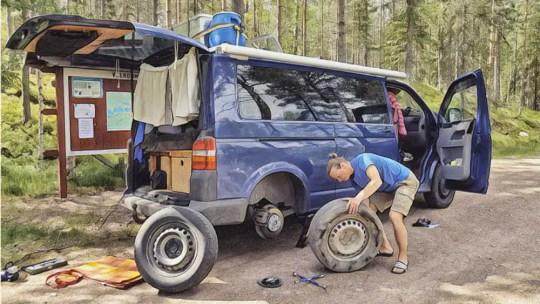 Wichtige Pannen Ausrüstung für die Camper Reise