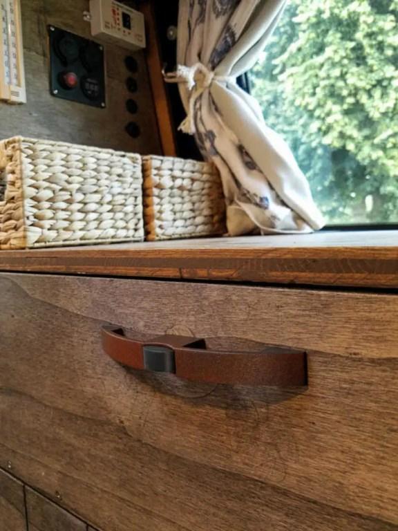 Push-Lock Möbelschloss für die Möbel im Camper Selbstausbau