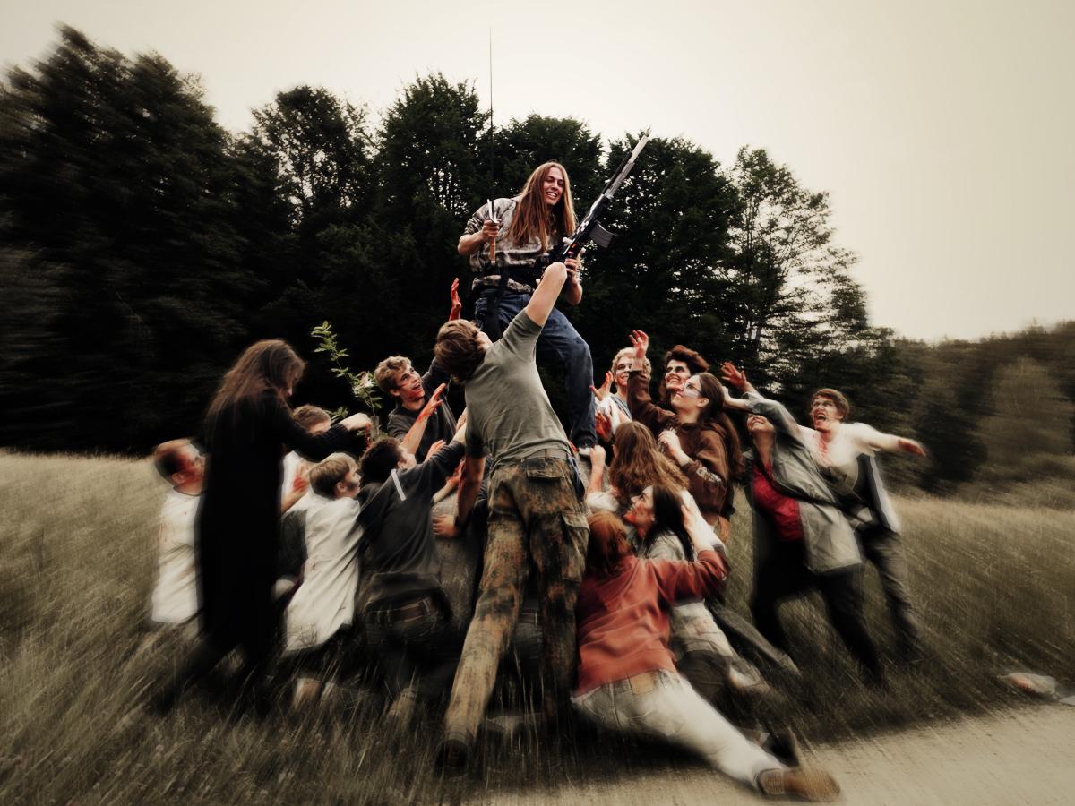 Fotos zum Zombie Nerf Film