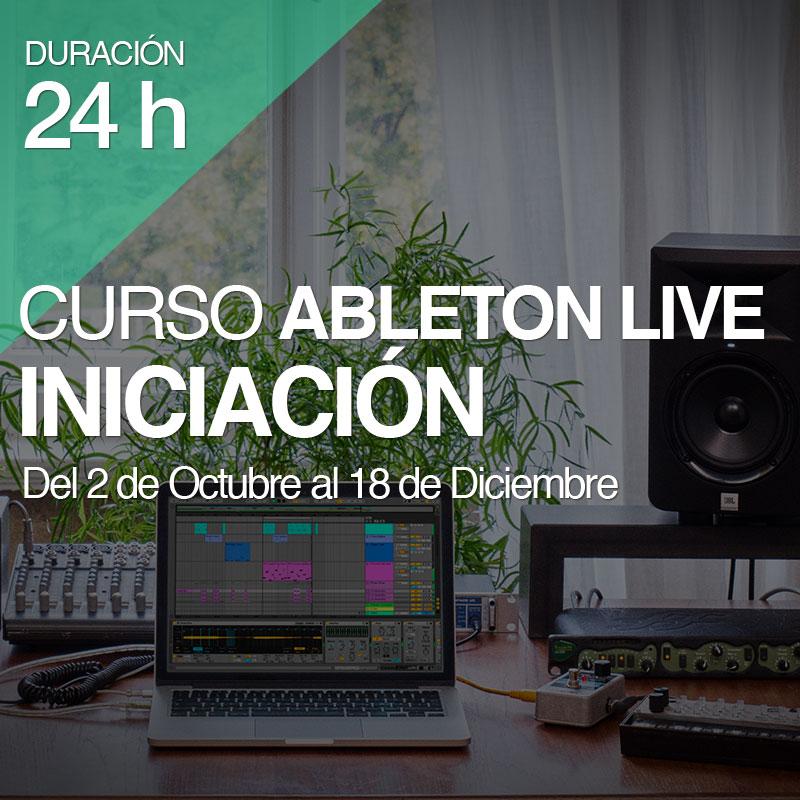 Curso Ableton Iniciación 24 horas