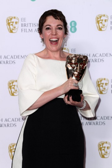 72nd British Academy Film Awards, Press Room, Royal Albert Hall, London, UK - 10 Feb 2019