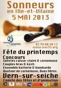 Affiche Sonneurs en Ille-et-Vilaine
