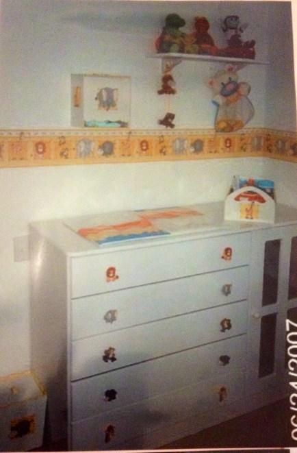 quarto de bebe animais