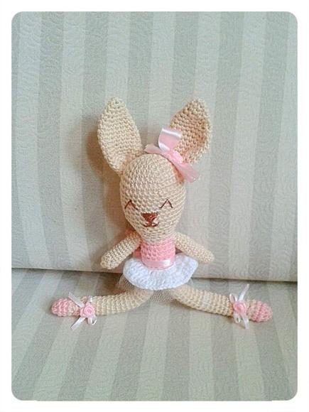 ratinha de crochê