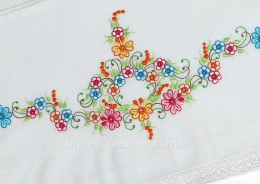 lencol xixi richelieu floral colorido