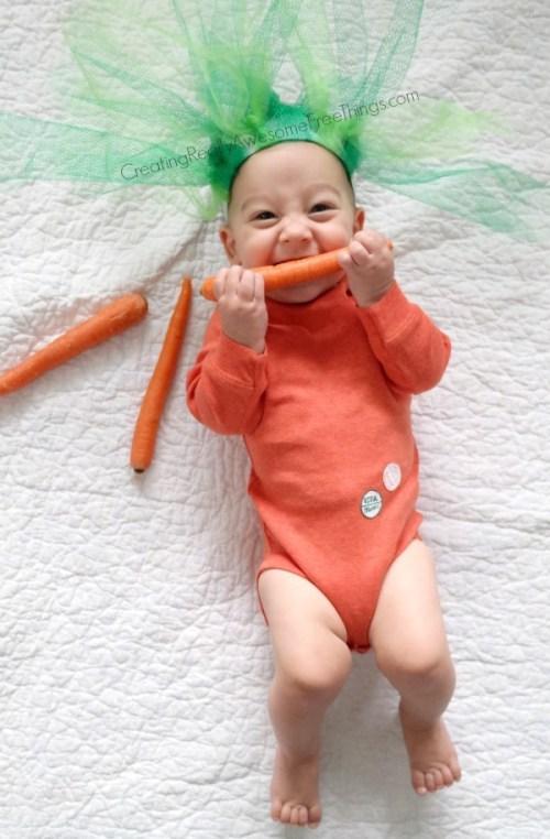 fantasia de cenoura