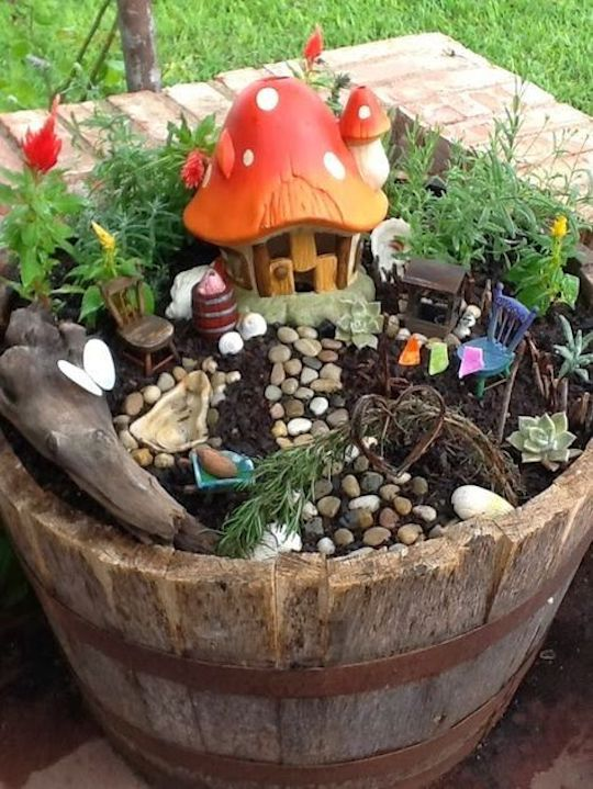 jardim de fada