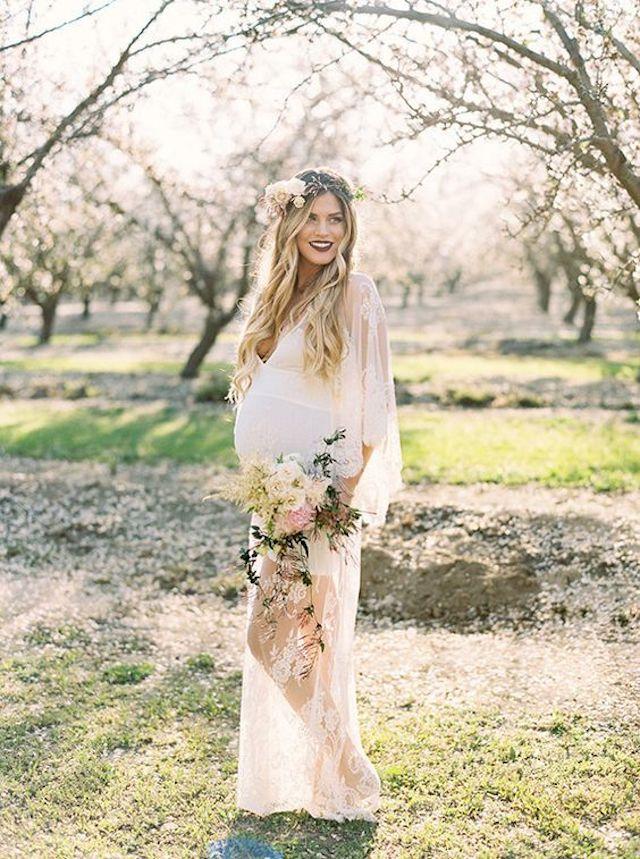 noiva gravida
