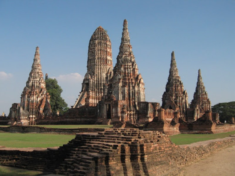 Ayutthaya: overdose de buda