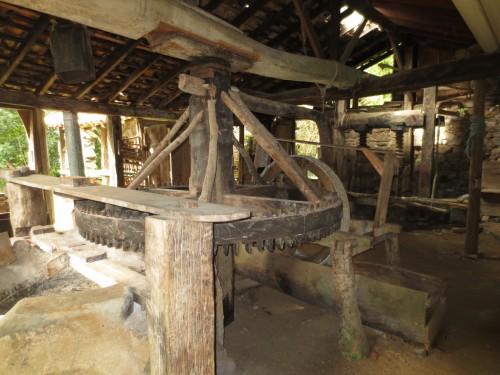 Engenho de farinha na trilha Costa da Lagoa