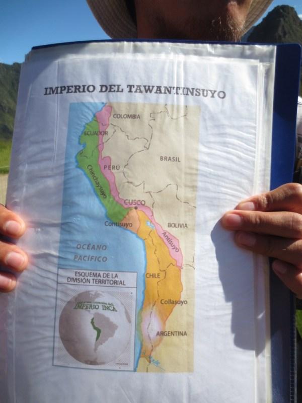 Mapa do Império Tawantisuyo