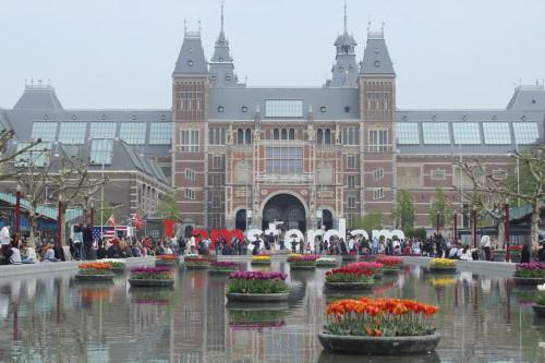 O lugar mais conhecido de Amsterdam
