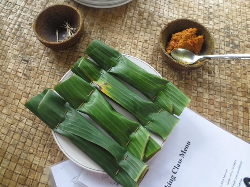 Aula de culinária balinesa