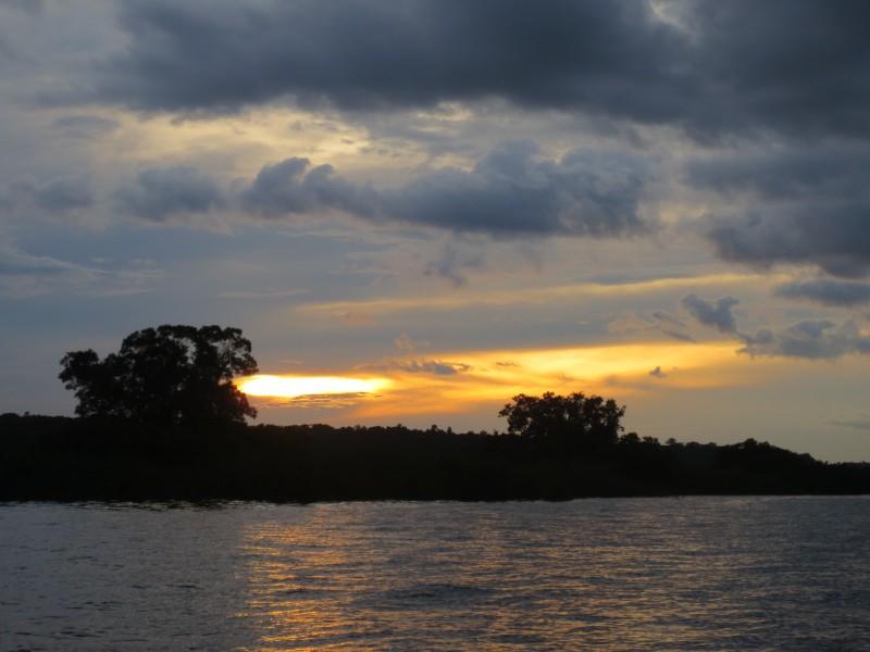 Por do sol Rio Negro - Manaus