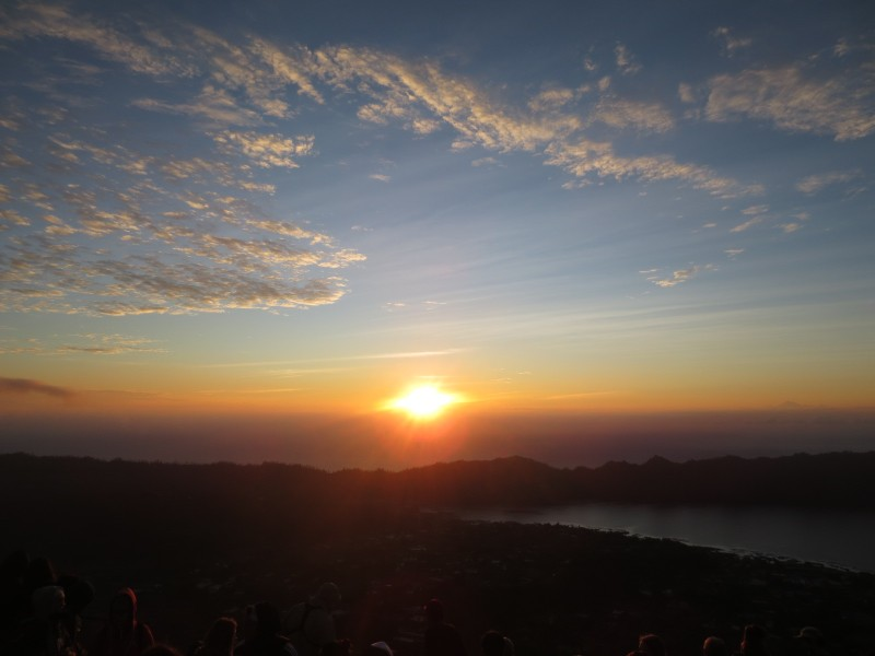 Nascer do sol Mont Batur-Indonesia