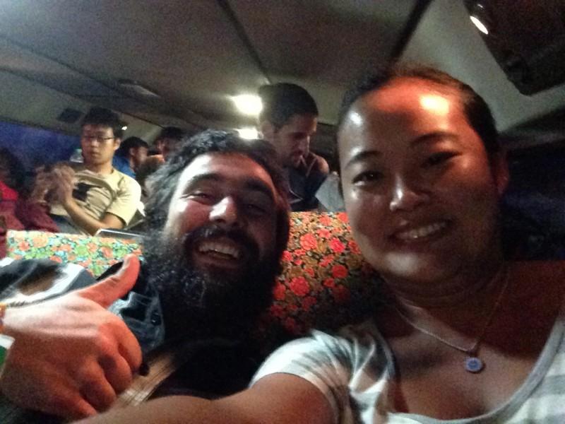 sleeping bus-laos