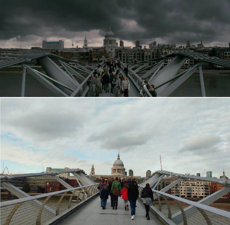 Pri Harry Potter_Millennium Bridge
