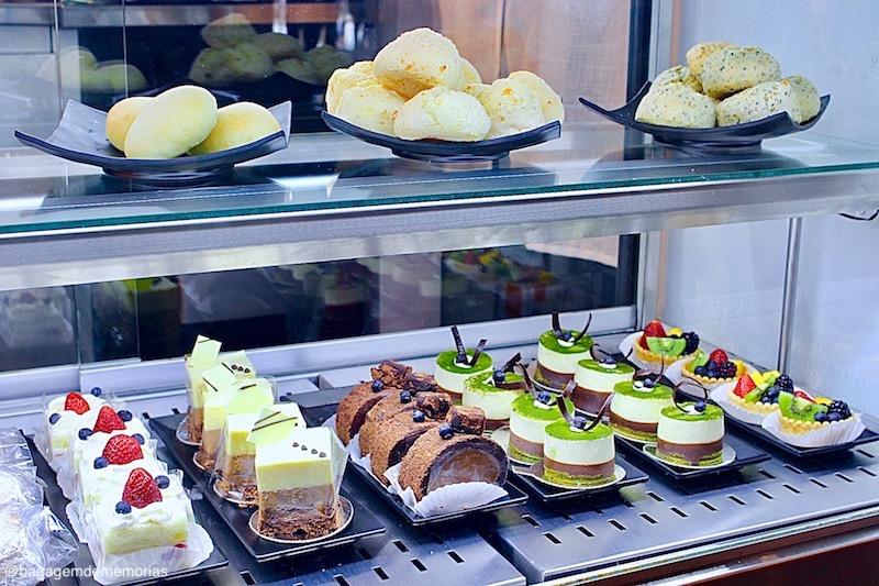 Cardápio do IMI Café mistura um pouco do Brasil e do Japão.