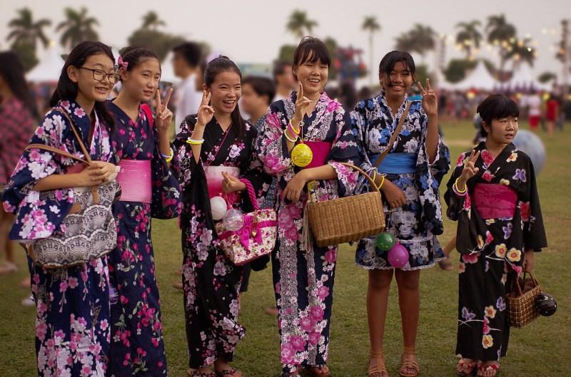 Cultura japonesa, gentileza