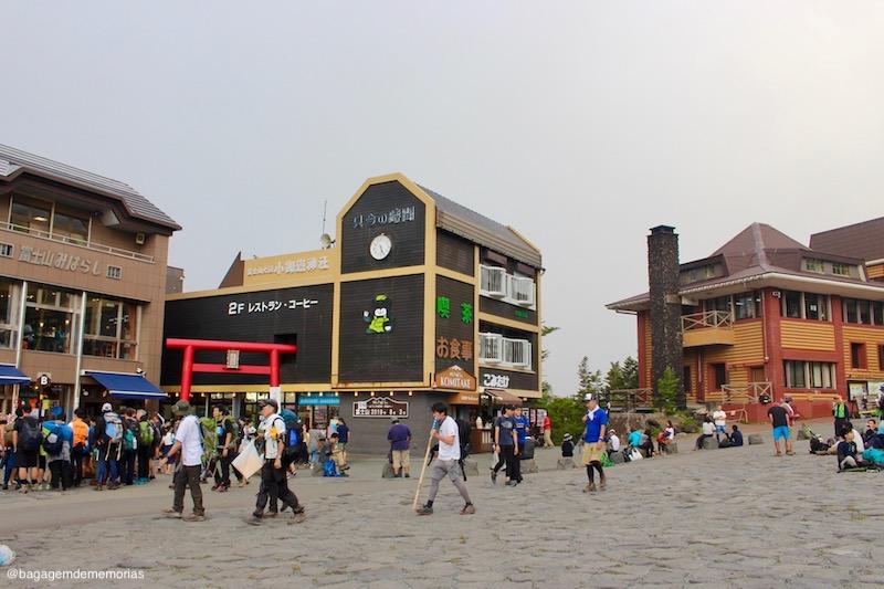 A 5ª estação da trilha Yoshida, também chamada de Fuji Subaru Line.