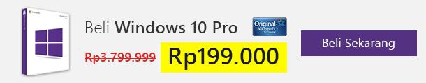 Beli Lisensi Windows 10