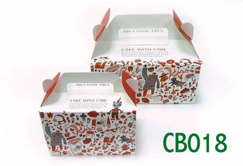 Custom Cake Boxes Bakery Boxes Cupcake Boxes Folding Cake Boxes