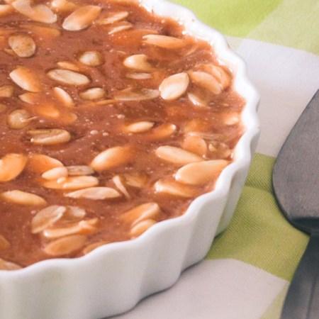Toscakage (mandeltærte) fra Bageglad.dk