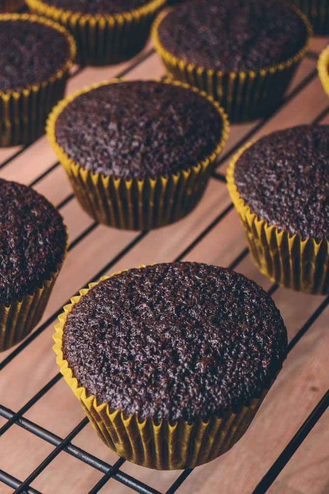 Chokolade muffins