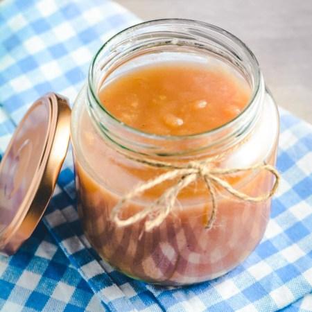Hjemmelavet æblemos opskrift fra Bageglad