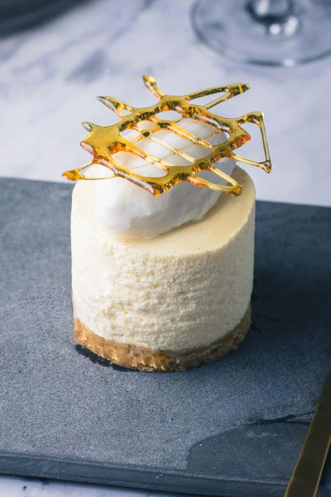 Passionsfrugt dessert fra Bageglad