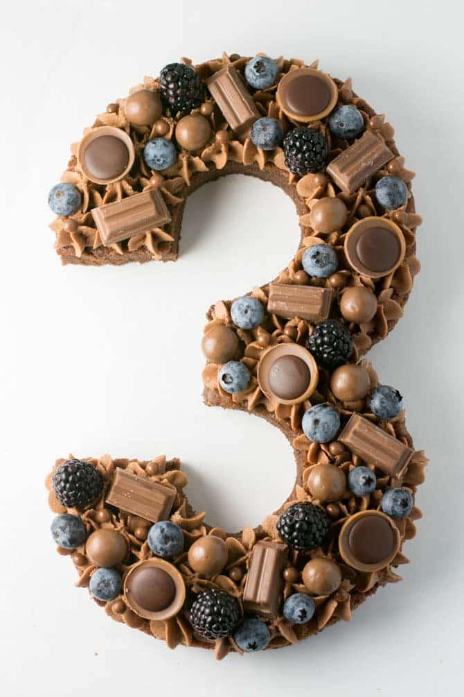 Chokolade tal kage