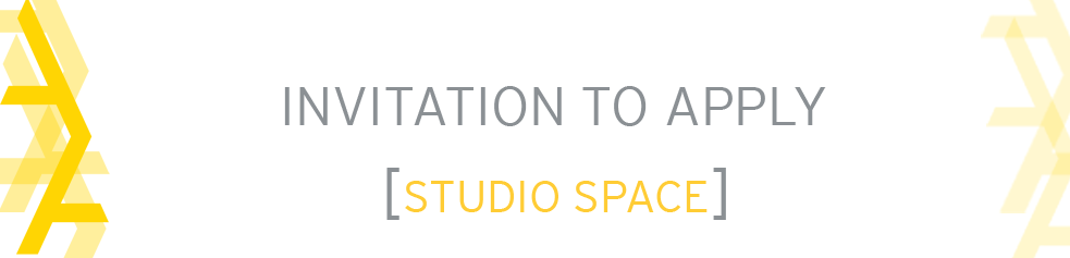 Call for Applications: Tier 3 Studio Space