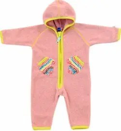 Fleece All-In-One Snowsuit - Pink (Udo - Babe)