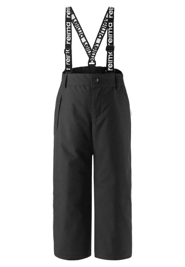 Reimtec vinterbyxor med hängslen strl 116 - färg svart