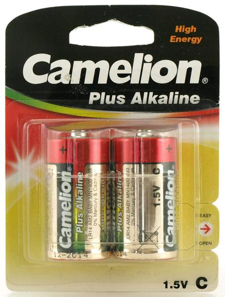 Batteri Alkaline 1,5V C LR14 2pack Camelion
