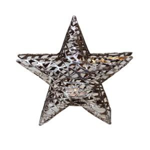 Trendig lykta stjärna i metall