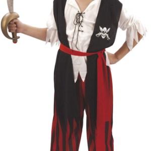 Maskeraddräkt pirat pojke