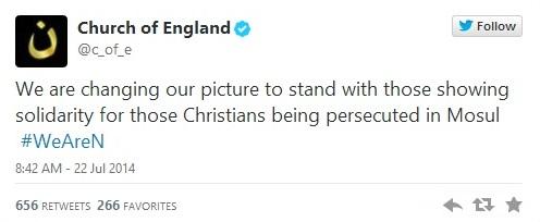Church of England #WeAreN