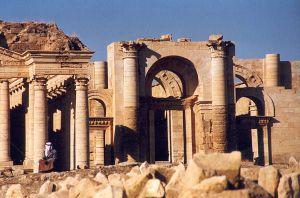 Hatra ruins.