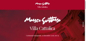 Il sito internet del MUseo Guttuso è on line