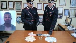 Spacciatore arrestato dai Carabinieri di Bagheria