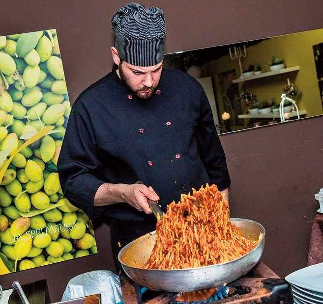 L'innovazione culinaria di un giovane chef bagherese