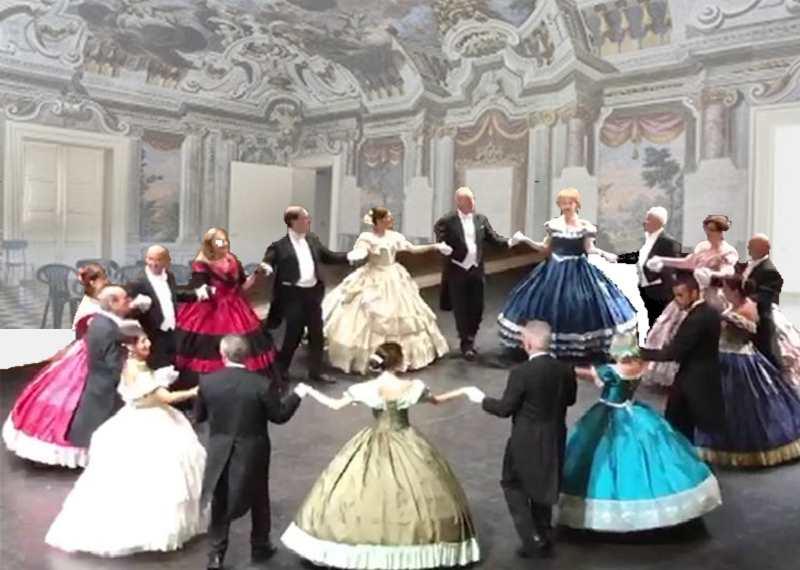 Festa degli Auguri di Natale organizzata da BCsicilia e Ateneo delle Danze dell'800