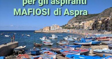A tu x tu con Michelangelo Balistreri: Messaggio agli aspiranti mafiosi di Aspra